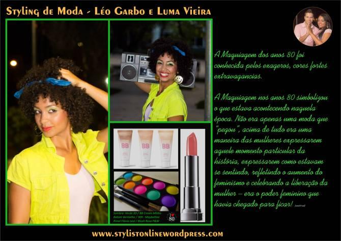 maquiagem anos 80 -1